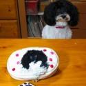 郷野裕子作品:愛犬「いくら」のソーイングケース