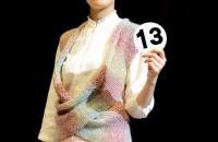 13.デッラルバでおしゃれに真っ直ぐ編む デザイン:北井千久