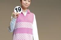 19.やさい畑で編むマジック・チュニック・レイヤー デザイン:宮川典子
