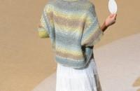 15.モヘアマルティで編むレイヤー デザイン:大平裕子